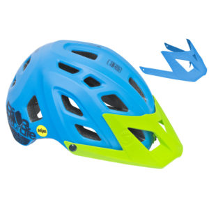 Casco Mountain Bike Adulti Mtb Enduro Mips Doppia Visiera