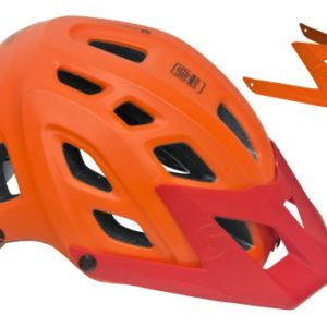 Casco Biciclette Mountain Bike Mtb Enduro con Visiera Intercambiabile