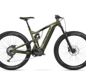 Mountain E-bike Pedalata Assistita Mtb Enduro Bicicletta Elettrica Full